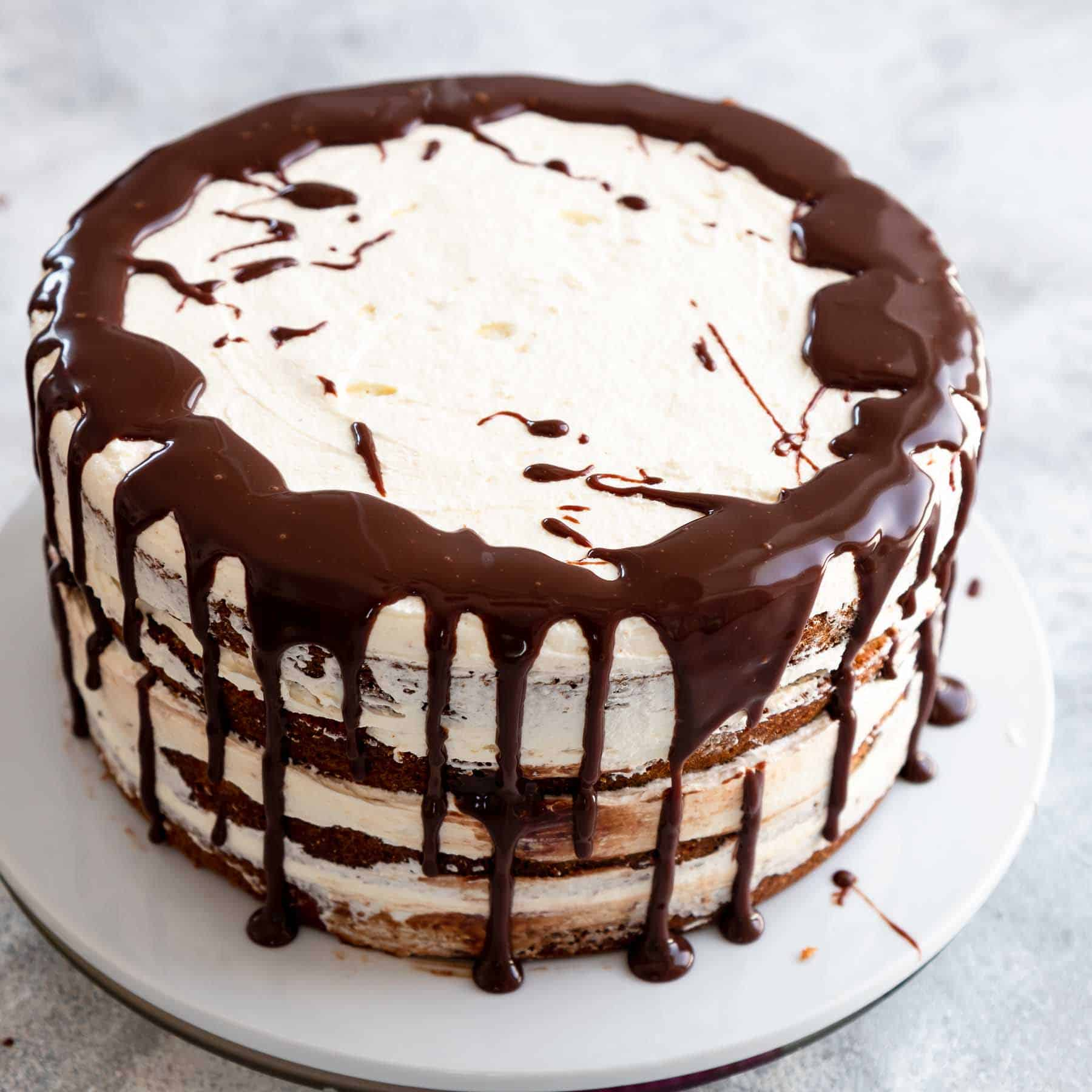 You volition live hooked afterward the get-go gustation Unbelievably delicious S'mores Cake